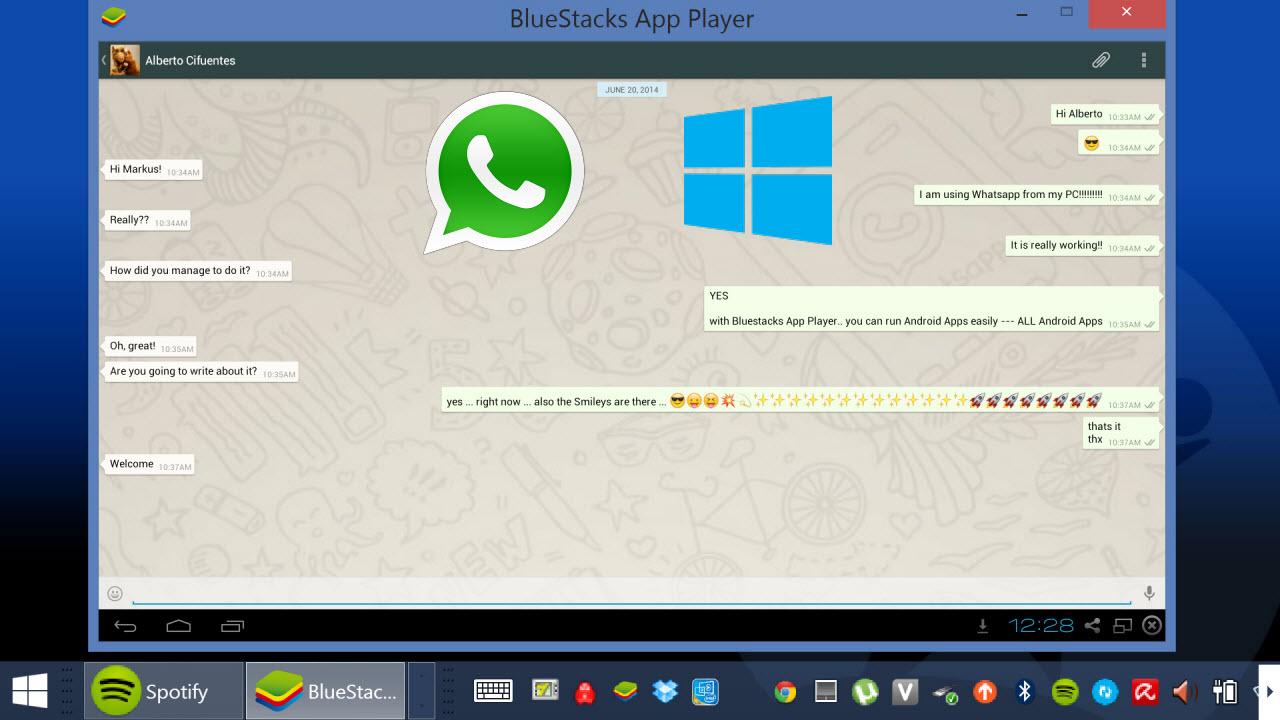 Como usar o whatsapp no pc com o bluestacks app player stopboris Images