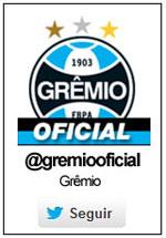 Siga o Grêmio  no Twitter