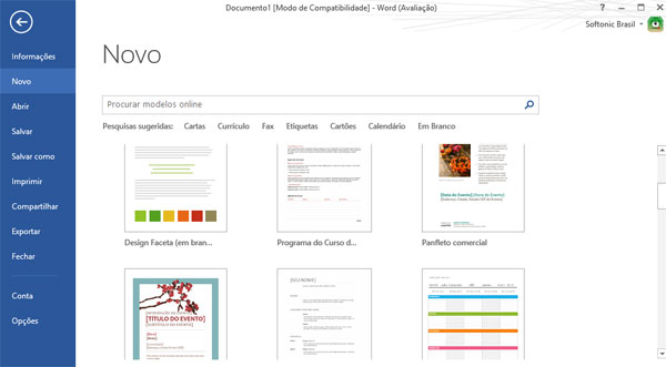Quais s o as novidades do office 2013 for Templates for onenote 2013