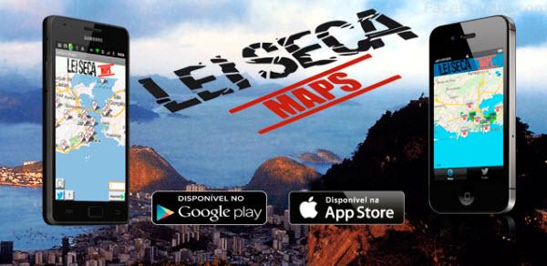 Aplicativo LeiSeca Maps mostra locais de blitz em várias cidades brasileiras