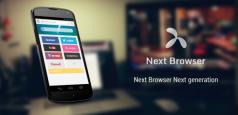 Next Browser: novo navegador para Android traz extensões e notícias
