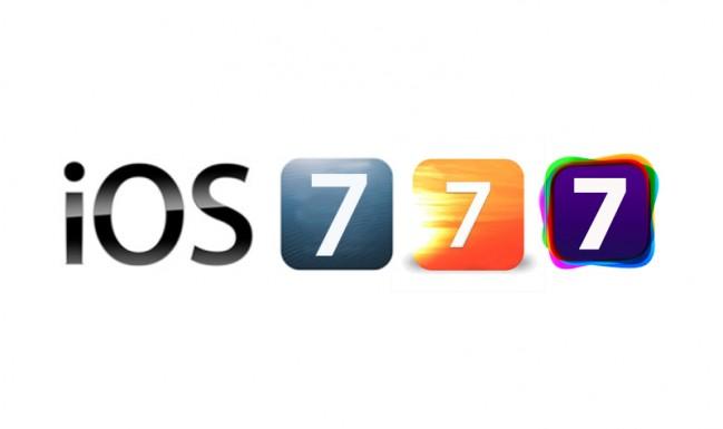 Como será o novo iOS7? Preto, branco e... prateado!