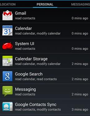 App Ops permite modificar permissões dadas a aplicativos