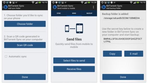 BitTorrent Sync chega à Beta junto com app para Android