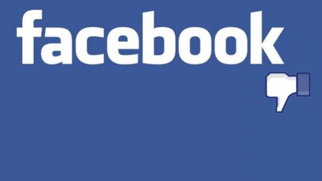 """Botão """"Não curtir"""" no Facebook"""