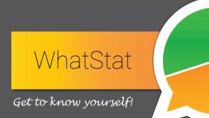 WhatStat mostra detalhes de tudo o que você faz no WhatsApp