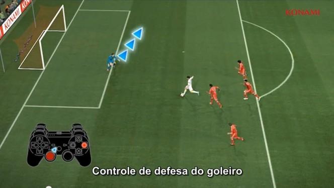 PES 2014 – Vïdeo-tutorial 5: Controle manual do goleiro