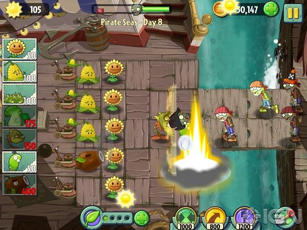 plants vs zombies 2 já é o jogo grátis mais baixado da app store brasil