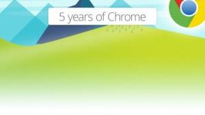 [Infográfico] 5 anos do Google Chrome
