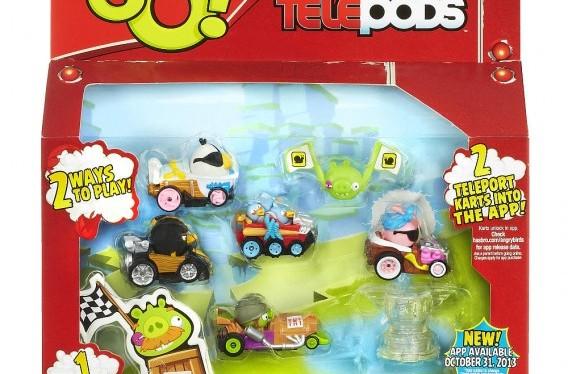 Caixa do telepod anuncia app do Angry Birds GO! para 31 de outubro
