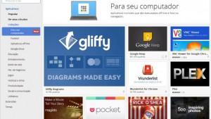 Apps do Chrome agora abrem direto da área de trabalho