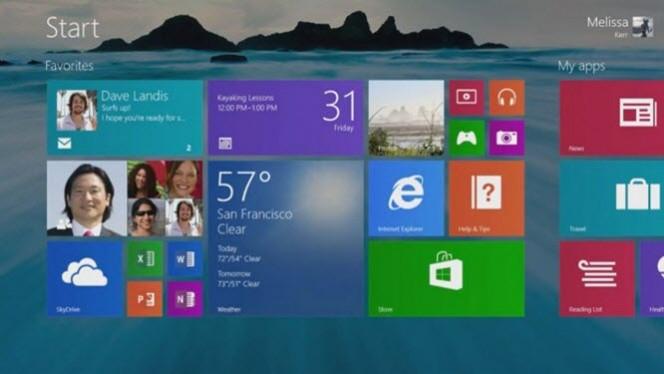 Vídeo do Windows 8.1 mostra botão Iniciar