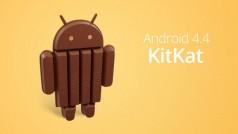 Android 4.4 KitKat já está disponível; Google faz lançamento junto com o Nexus 5