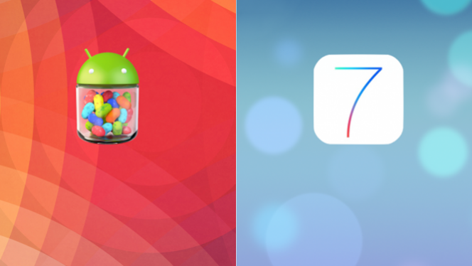 iOS 7 vs. Android 4.3
