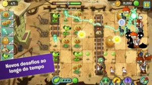 Plants vs. Zombies 2 para Android chega ao resto do mundo