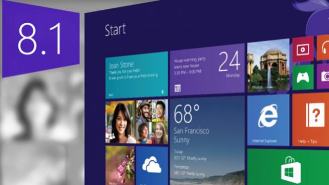 Microsoft lança atulização Windows 8.1