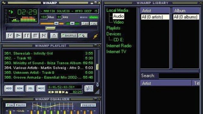 Winamp chega ao fim após mais de 15 anos de história