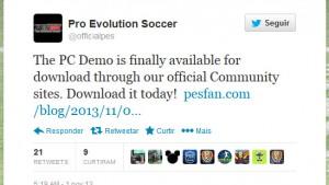PES 2014 Demo para PC já está disponível para download