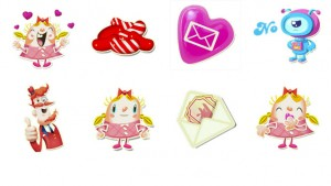 Stickers do Candy Crush chegaram à loja de figurinhas do Facebook