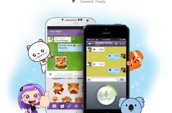 Novidades do Viber 4.0: novos stickers, mensagens de voz, novos planos de fundo e chats em grupo para até 100 pessoas