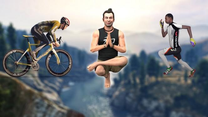 Grand Theft Auto V: atividades