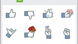 """""""Não curti"""" chega ao Facebook em forma de sticker"""