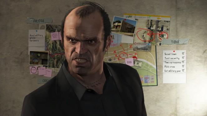 Trevor em Grand Theft Auto V