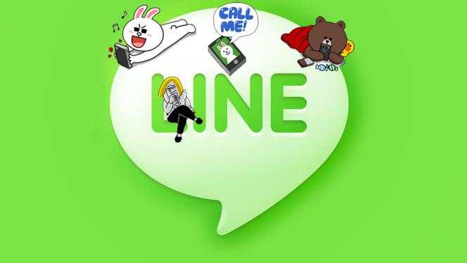 Video chamadas no Line