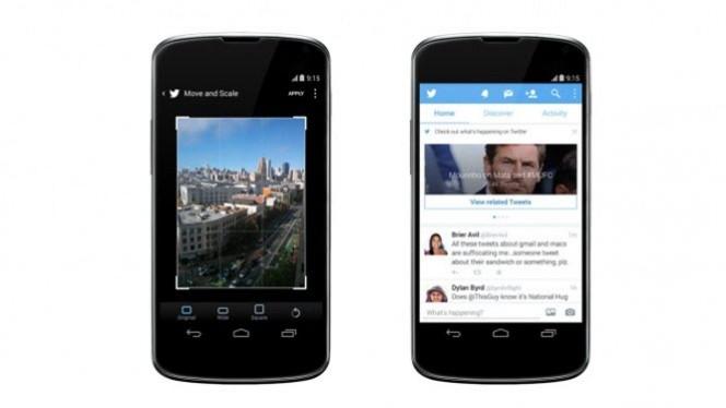 Compartilhar fotos no Twitter para Android está mais simples