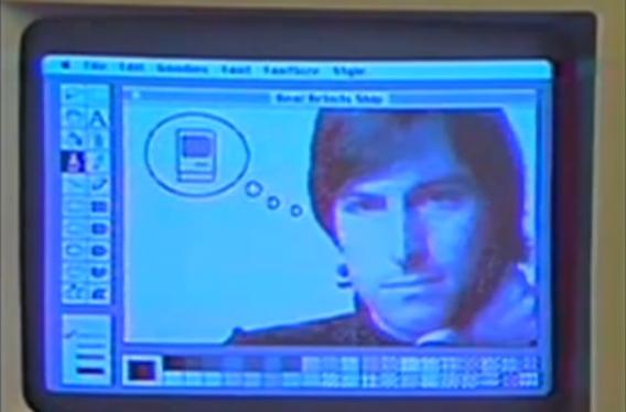 Imagem do primeiro computador pessoal Macintosh