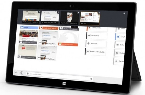 Firefox for Windows 8