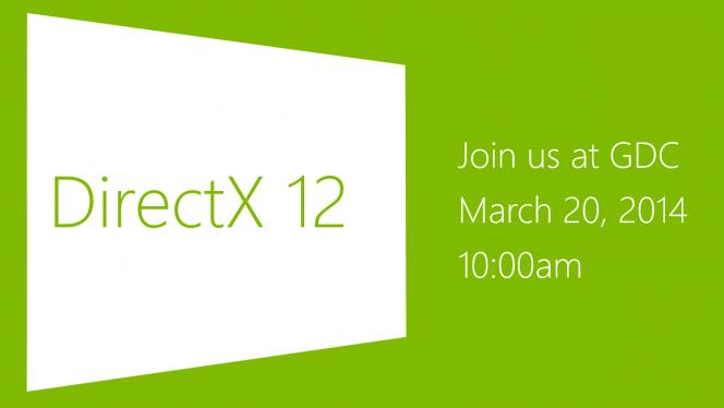 Convite para apresentação do DirectX 12 na GDC 2014