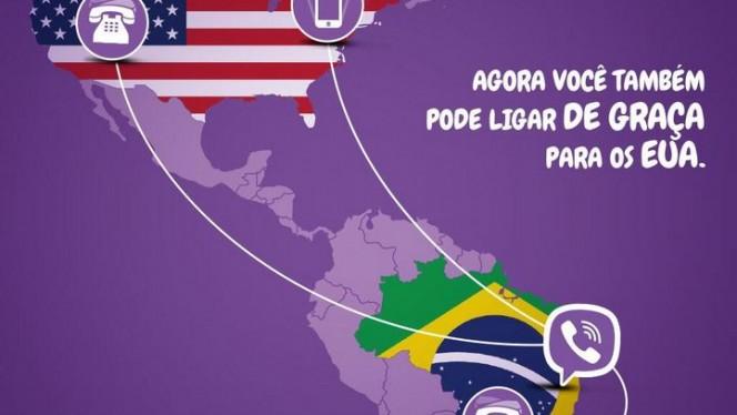 viber BR-EUA