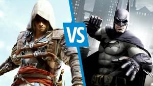 Batman Arkham Origins versus Assassin's Creed 4