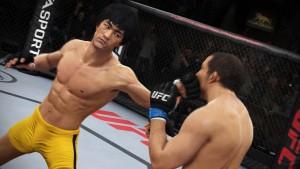Já imaginou um duelo entre Bruce Lee e Anderson Silva? O novo game do UFC já
