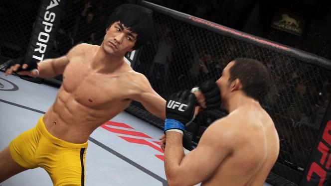 Bruce Lee no próximo game oficial do UFC