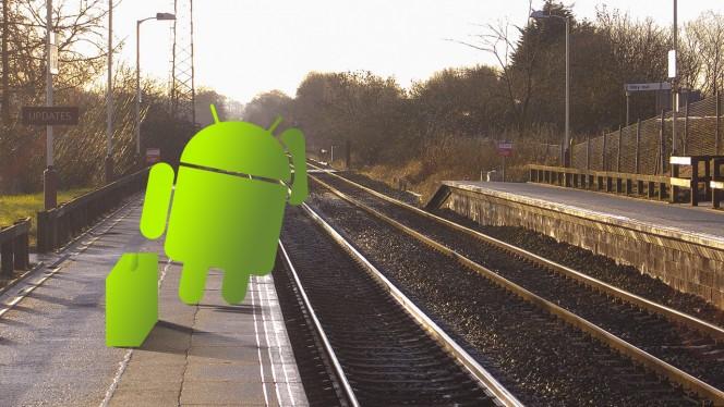 Android esperando atualizações