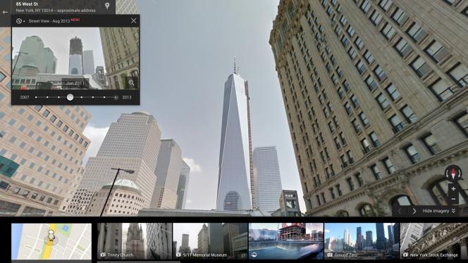 Google Street View ganha Máquina do Tempo