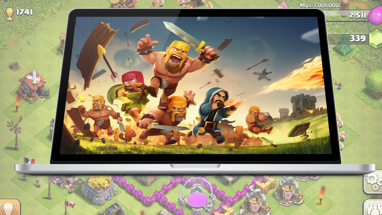how to play coc on mac without genymotion