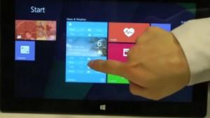 """Microsoft faz testes com """"tiles"""" interativos. Mais uma prévia do Windows 9?"""