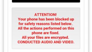 E a moda do sequestro de arquivos chega ao Android