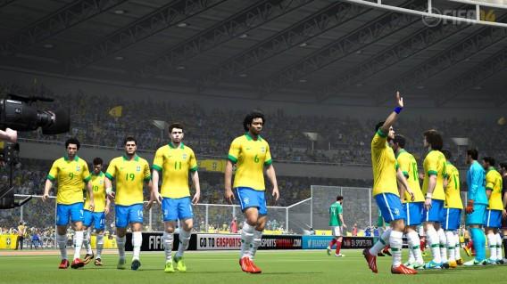FIFA 14 e New Star Soccer permitiam chegar à seleção brasileira