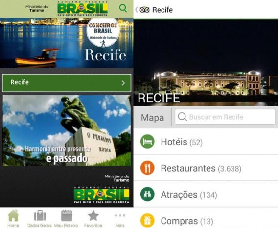 Encontre pratos típicos e culinária variada em Recife com o Concierge e TripAdvisor