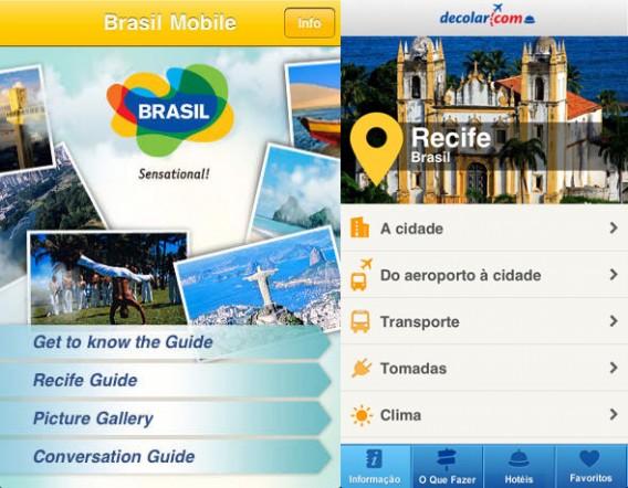 Programas não faltam na capital pernambucana, para ajudar, instale o Brasil Mobile e Recife Guia Turistico