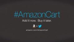 Amazon permite compras em seu site via Twitter. Ou quase isso…