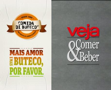 Aplicativos Comer & Beber e Comida Di Buteco indicam excelentes restaurantes