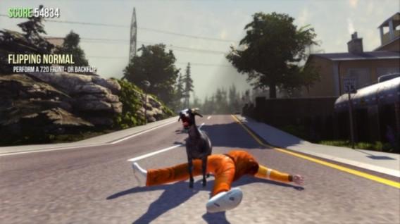 Cabra Macabra em Goat Simulator