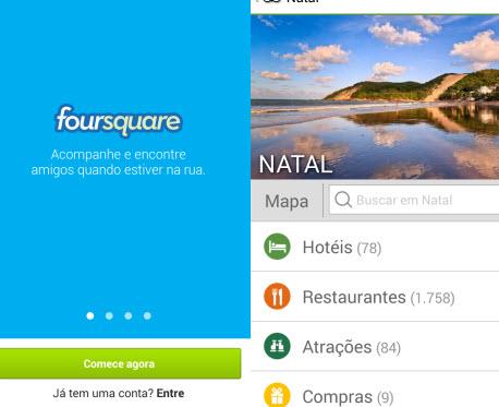 Encontre os melhores bares e restaurantes de Natal com Foursquare e TripAdvisor