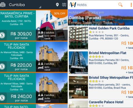Hotel Urbano e Hotel ASAP indicam os preços mais em conta