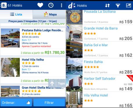 Decolar.com e Booking.com ajudam a encontrar reservas disponíveis